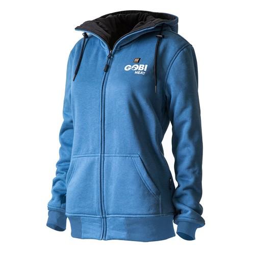 gobi heat women's ridge heated hoodie