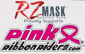 snowshoe RZMASK suppot pink ribbons