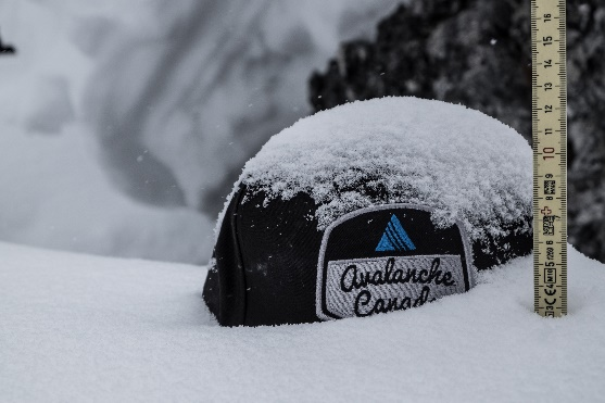 avalanche canada- snow depth