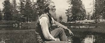 The great American naturalist John Muir (1838-1914).