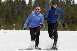SportHill snowshoers