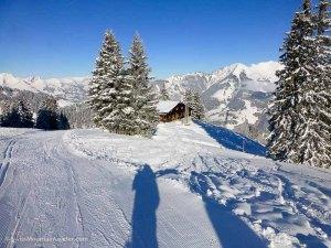 31 Dec 2014 - La cabane des Monts-Chevreuils , Swiss Alps