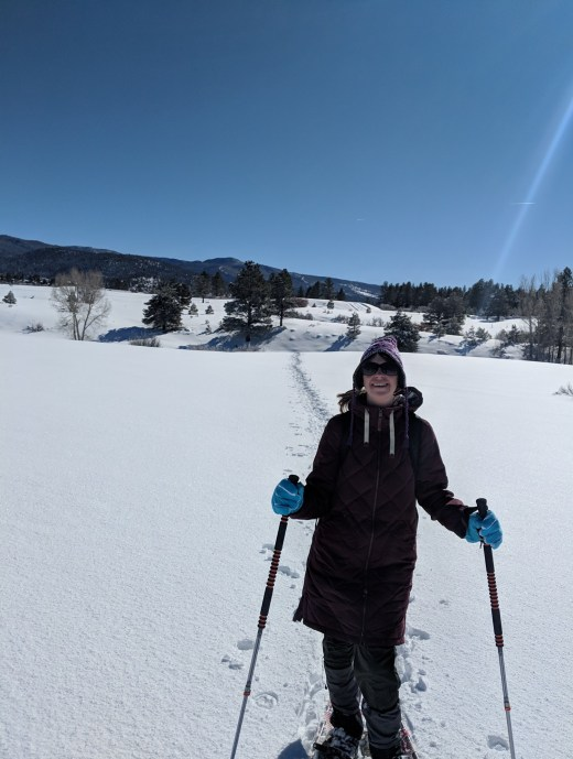 Susan at Edward Sargent in Chama