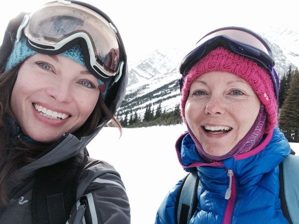 Great friends can be made on snowshoe tours