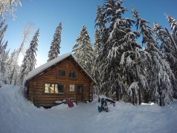 The Alpine Club of Canada's Wheeler Hut