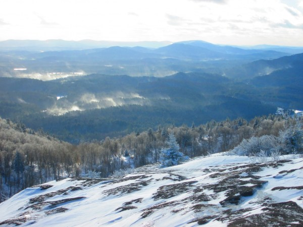 View from the summit of St. Regis. Photo Credit: Tim Moody
