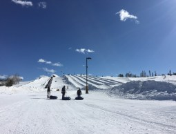 The impressive snow tubing hill at the Frisco Adventure Park is sure to bring a smile to the faces of all ages.