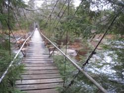Bridge over the West Branch Sacandaga River