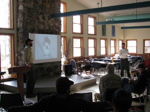US Forest Service Wilderness Rangers talk about winter travel and safety in the Boundary Waters Canoe Area Willderness.
