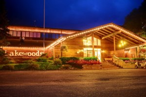 The lodge at Lakewoods Resort.