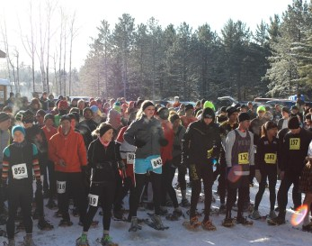 Racers awaiting the start of the Phillips Flurry