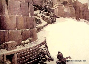 Surviving until falling at the walls of the icy kingdom