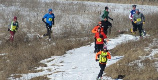 Lead changes ruled in this race! Zach Rivers leads in this instance with Scott Gall, Nick Scalfone, Eric Hartmark, Adam Dohm, Jeffrey Quednow with the hat.  (photo courtesy Branden Nall)