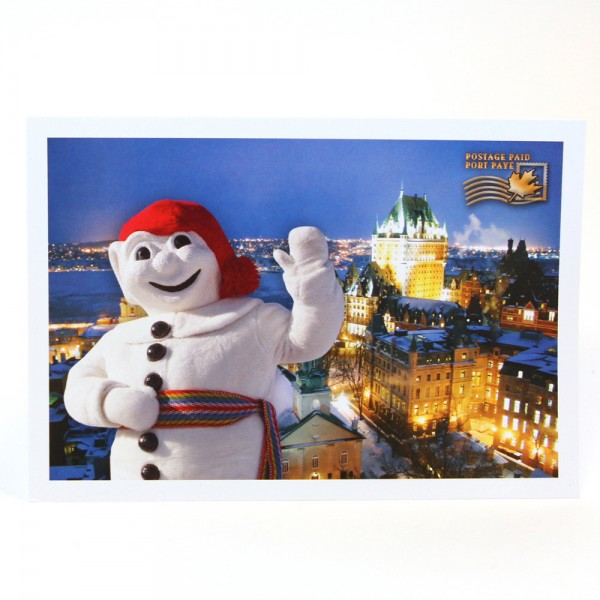 """Send this prepaid postcard back home with a note: """"Having great time; don't interrupt!"""""""