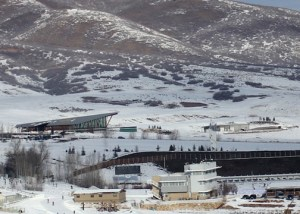 The world-class Olympic Nordic facility at Soldier Hollow.