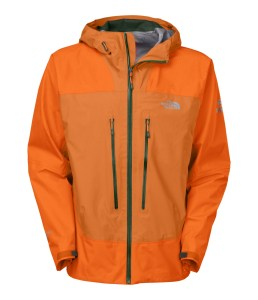 Let the weather rain on your parade with The North Face men's Meru Gore-Tex hard shell jacket.