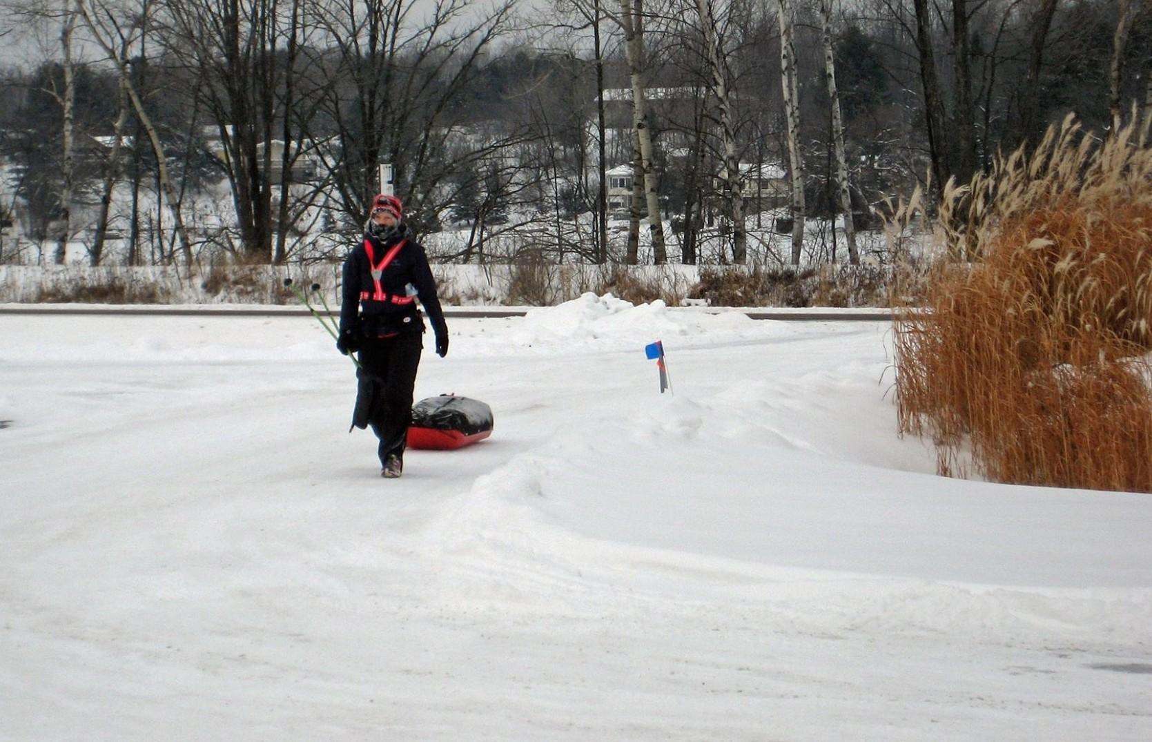 Manitoba's Sue Lucas Tames Tumultuous Tuscobia 150-Mile Trek