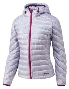 The new Hi-Tec women's Timaru Down Hoodie is a hybrid insulation layer that's ideal for sub-freezing adventures.
