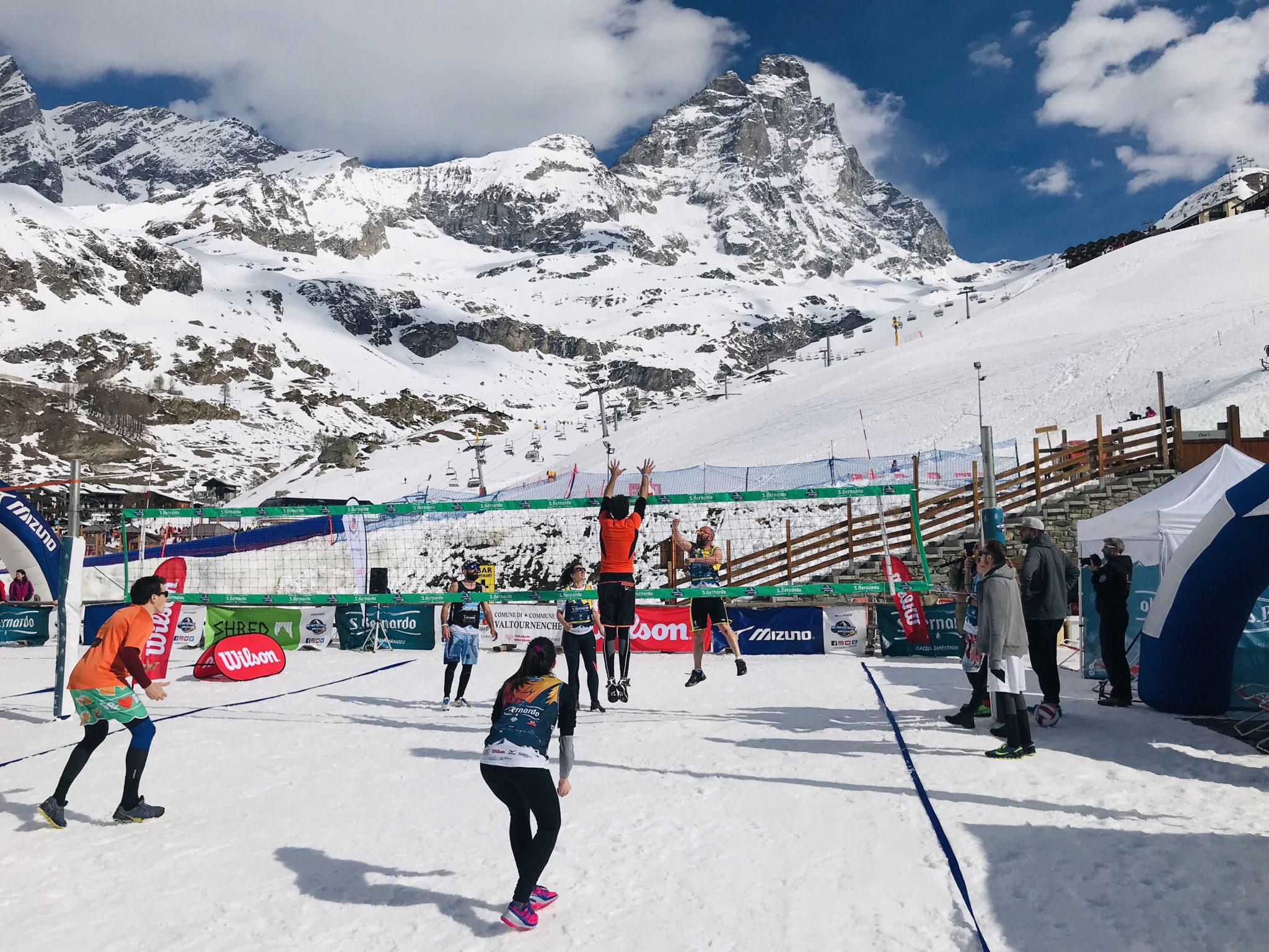 Breuil Cervinia Snow Volley