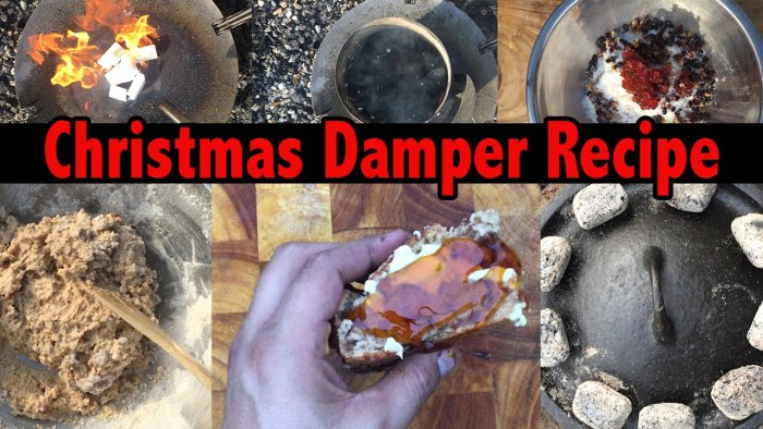 Cast Iron Boys Christmas Damper Recipe