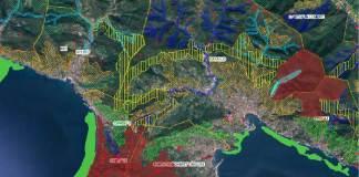 Esempio di mappa consultabile da Li.Bi.Oss.