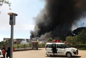 Molestia olfattiva e monitoraggio a seguito di incendi nel Lazio