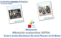#Mobilità sostenibile ISPRA. Casa-Lavoro-Sicurezza – ELVITEN Project.eu E-BIKES