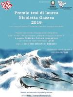 Premio tesi di laurea Nicoletta Gazzea 2019
