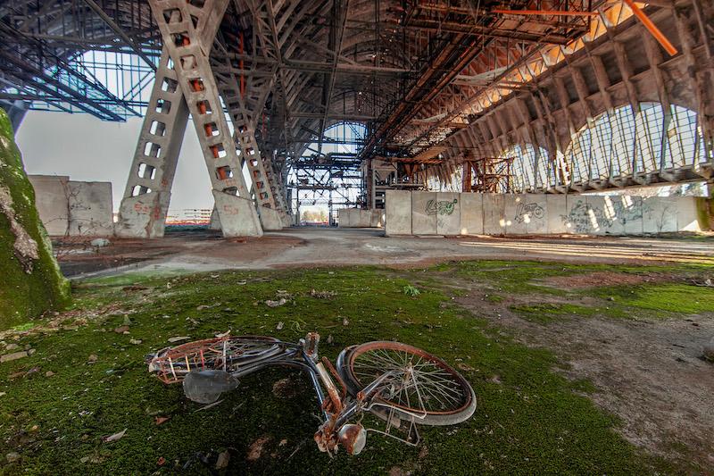 Il degrado dei ruderi di attività industriali sconsiderate