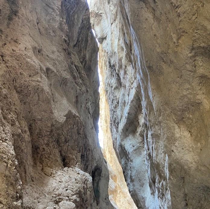 La gola di San Martino, nella Maiella