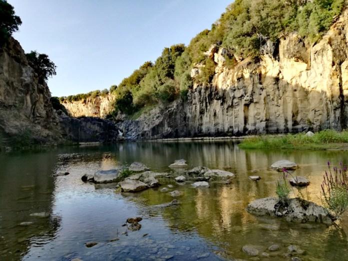 Il nome della rosa-Lago del Pellicone-Parco archeologico di Vulci (VT)