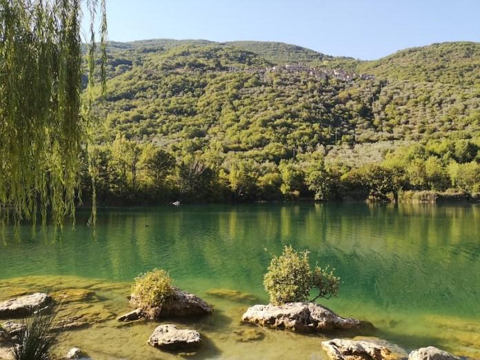 Sfumature di verde - Lago di Paterno