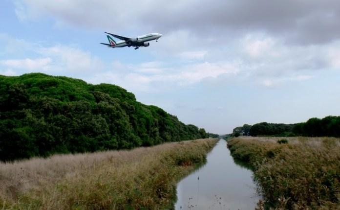 Impatto di Fiumicino Aereoporto sull'Oasi WWF di Macchiagrande (RM)