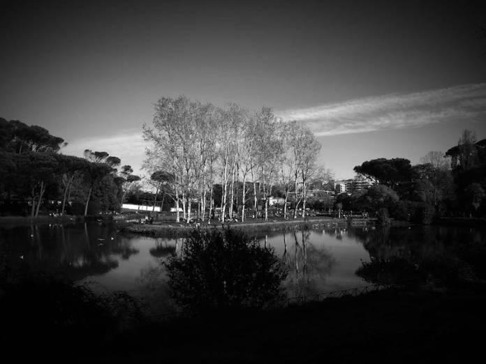 Autunno a Villa Ada, Roma
