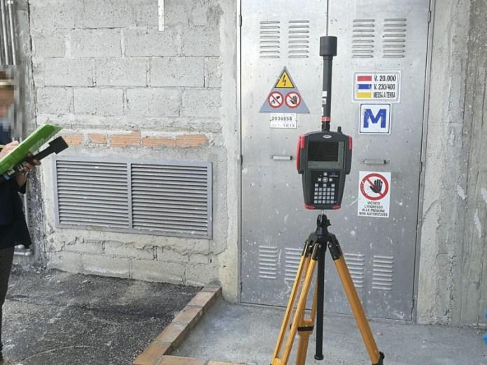Misurazioni campi magnetici cabina elettrica
