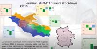 Qualità dell'aria a Roma e nel Lazio durante il lockdown 2020
