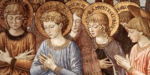 As trombetas dos anjos