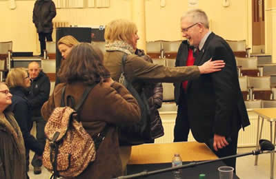 Mike Russell at Maryhill Community Central Hall