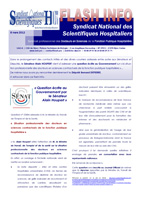 Flash Info n°1 - 8 mars 2012