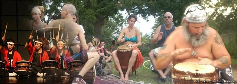 Spiritual Naturalist Drumming