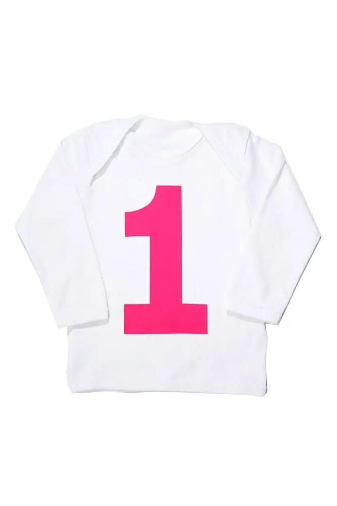 I AM 1 Hot Pink First Birthday T Shirt Shirts