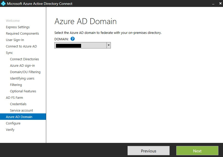 Azure AD Domain