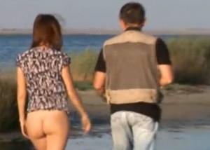 spontant sex vid havet