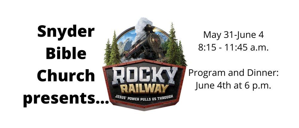 Rocky Railway VBS