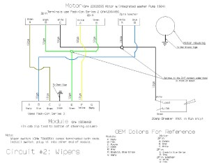 Tech: Detailed Wiper Wiring Diagram