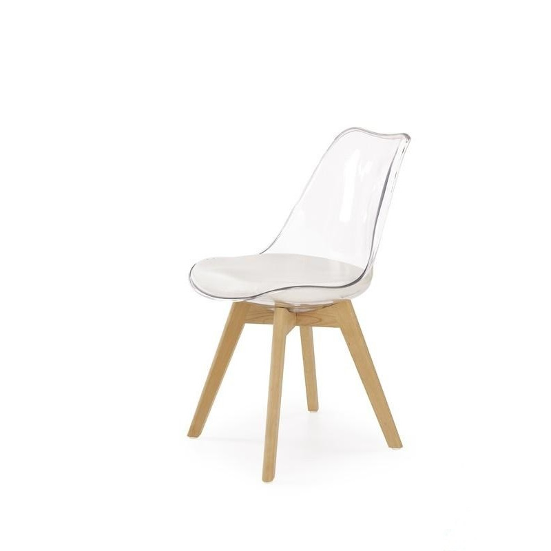 Chaise Scandinave Coque Transparente Louisa So Inside