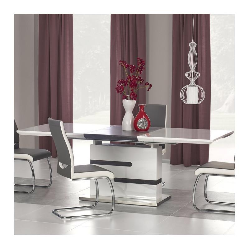 table a manger blanche et grise design ragnar