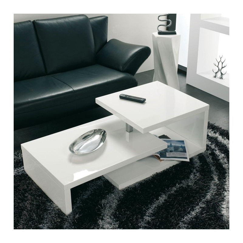Table Basse Modulable Blanche Lika Tables Basses Design