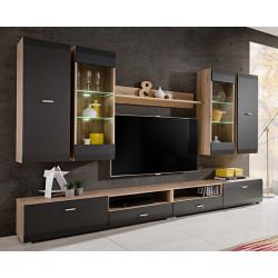 ensembles meuble tv mural suspendus