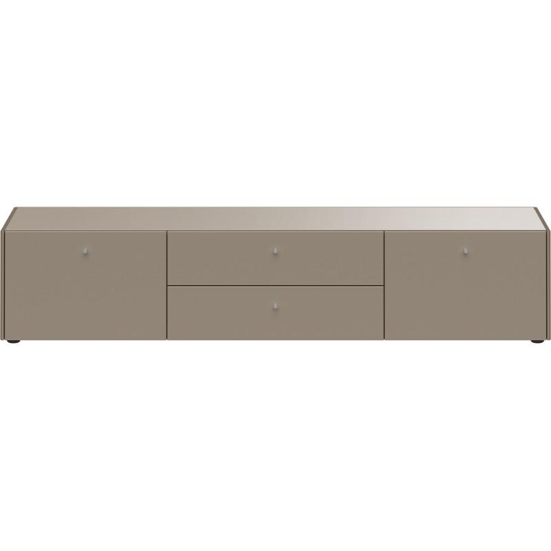 meuble tv gris pierre heavy